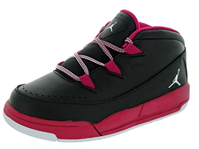 a6b6b3d5a389 Image Unavailable. Image not available for. Color  Nike Jordan Toddlers  Jordan Deluxe Gt Black White Sport Fuchsia Basketball Shoe 9 Infants