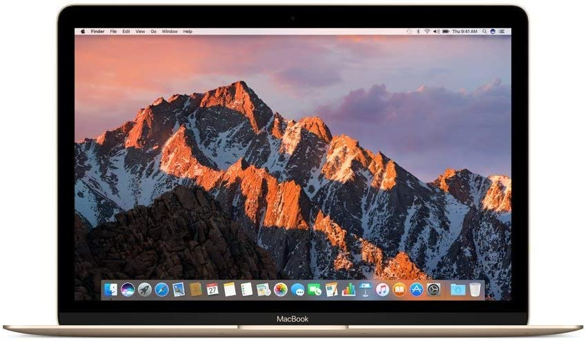 Apple MNYL2LL/A 12in MacBook, Retina, 1.3GHz Intel Core i5 Dual Core Processor, 8GB RAM, 512GB SSD, Mac OS, Gold (Newest Version) (Renewed)