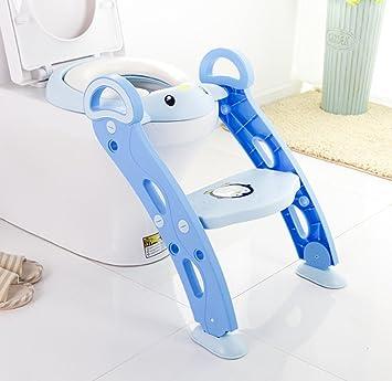 Sitz Toilette T/öpfchen Training f/ür Kinder von 1-7 Jahren Wei/ß Toilettensitz Baby Danping T/öpfchentrainer Kinder Kinder Toiletten