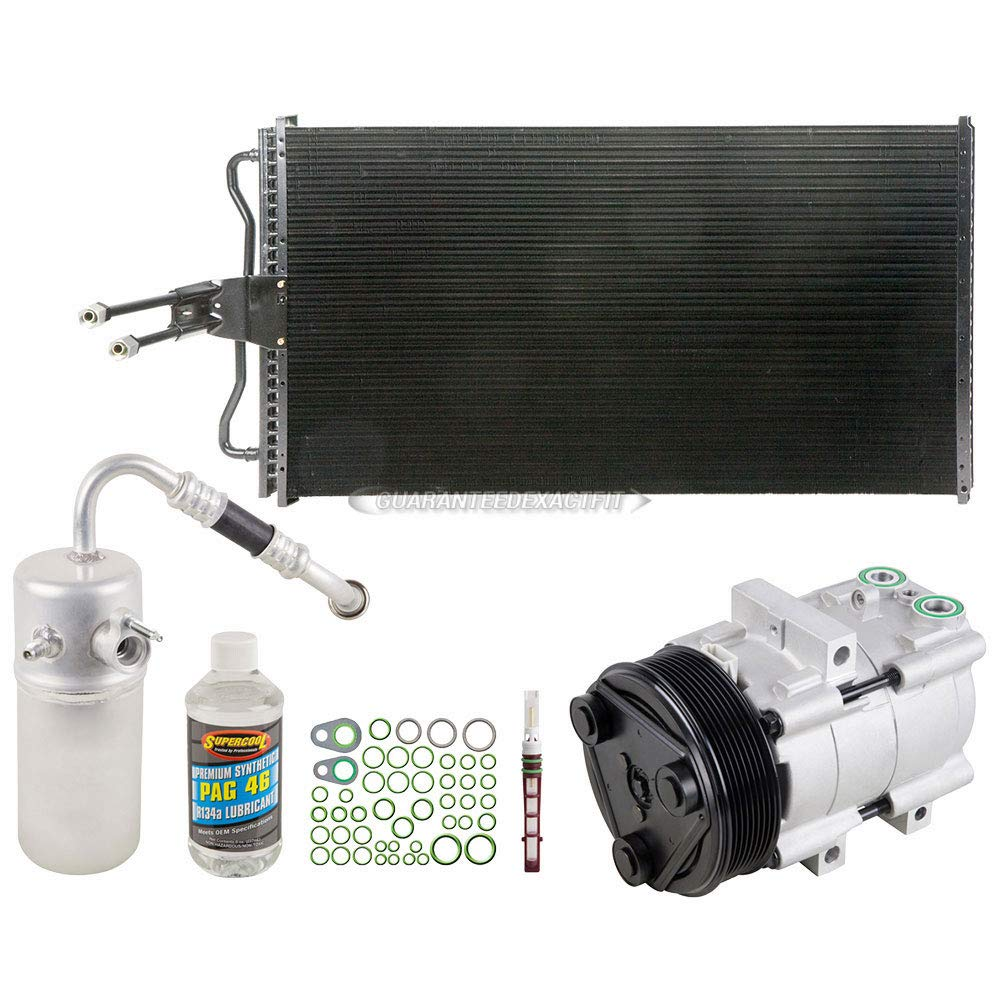 BuyAutoParts 60-82596CK New A//C Kit w//AC Compressor Condenser /& Drier For Ford F-150 2004 2005 2006