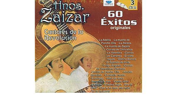 Hnos. Zaizar - Hermanos Zaizar (60 Exitos 3Cds Tricdd-10058) - Amazon.com Music