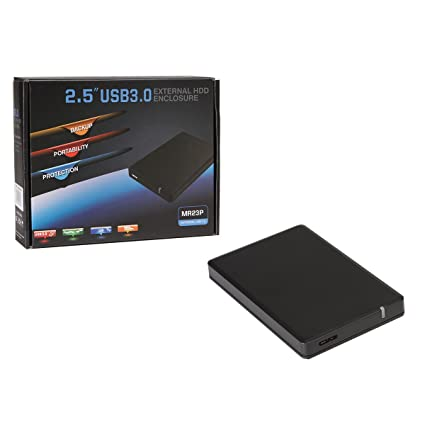 CiT MR23P - Carcasa para Disco Duro DE 2,5 Pulgadas (USB 3.0 ...