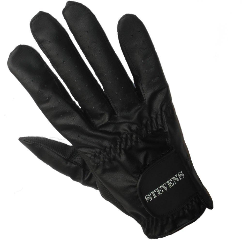 Stevens Mens Right Hand Black Bowling Glove