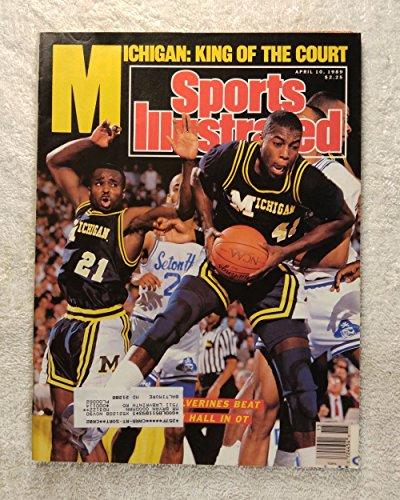 1989 Michigan Wolverines Basketball (Glen Rice - Michigan Wolverines - 1989 National Champions! - Sports Illustrated - April 10, 1989 - Seton Hall - College Basketball - SI)