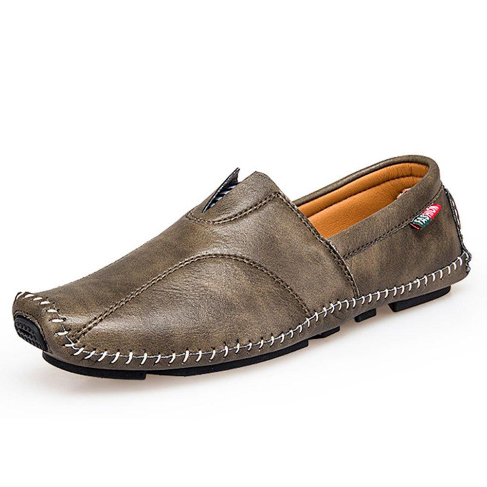 Herren Schuhe Mikrofaser Leder Faule Schuhe Frühjahr/Herbst Komfort Loafers  SlipOns Herren Casual/Outdoor Fahr Schuhe/Wanderschuhe (Farbe : B  Größe : 40) B