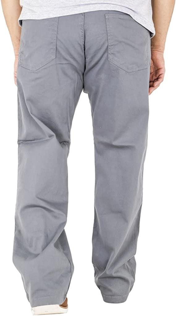 AZTEC Mens Classic Regular Fit Stretch Chinos Waist 42 44 46 48