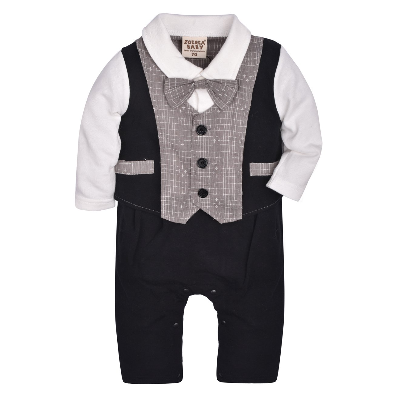 Baby one piece romper suit new cotton short//long sleeve OASIS