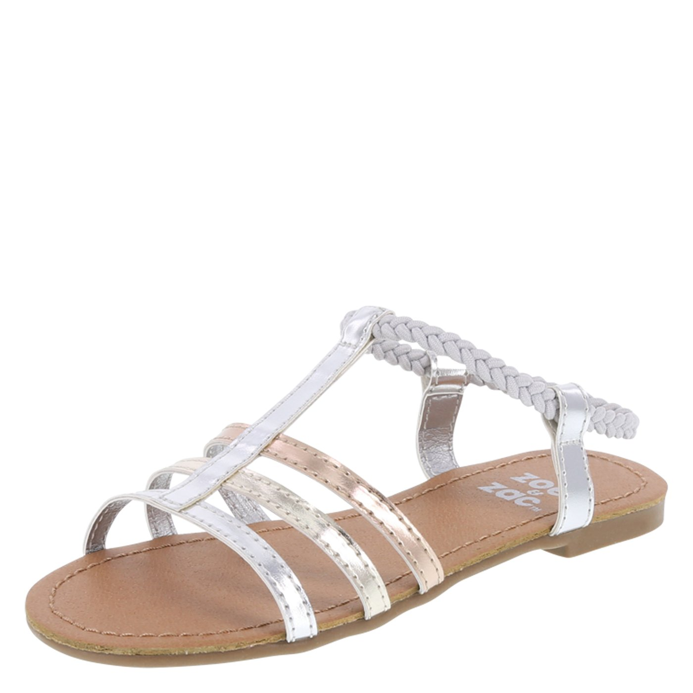 Zoe and Zac Girls' Bellah Sandal 078423-Parent