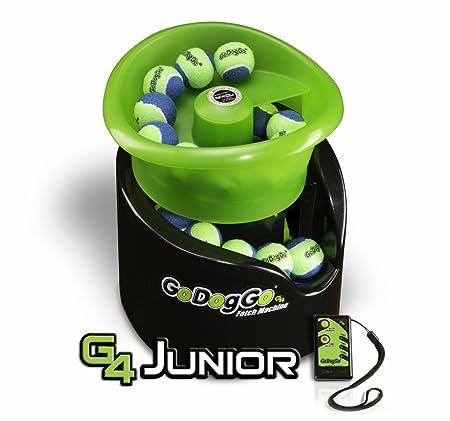 godoggo automatic dog ball launcher junior fetch machine dog ball