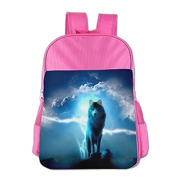 ZHIYANG Lightweight Childrens Backpacks Wolf Gaze Kids Snack Backpack  School Bags Fo Boy   Girl   79575cdaf6