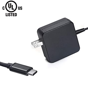 Amazon.com: 45 W AC Charger para Acer Tipo C USB-C Puerto de ...