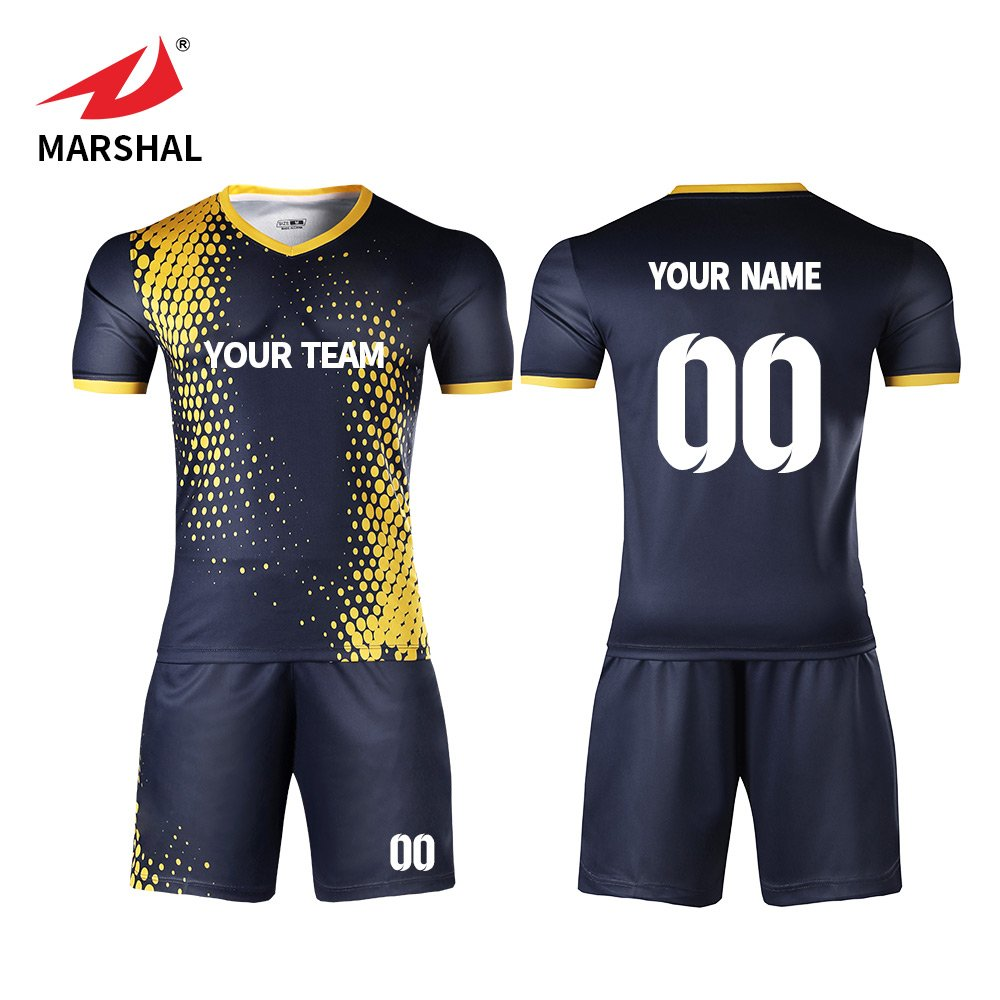 1cdba759959 ZHOUKA Mens jerseys custom shirts youth football kit soccer uniforms black  with yellow: Amazon.co.uk: Sports & Outdoors