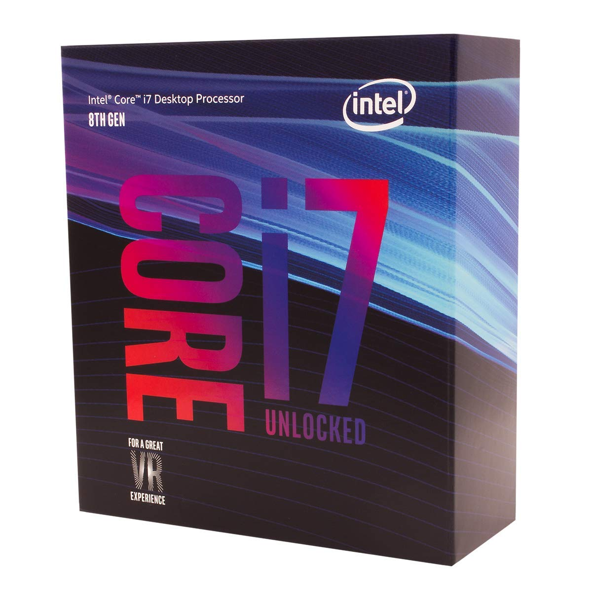Intel Core i7-8700K 6 Cores up to 4.7GHz Turbo Unlocked LGA1