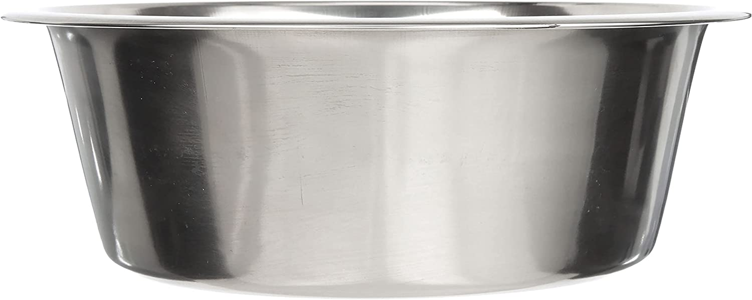 Neater Pet Brands Stainless Steel Dog and Cat Bowls - Extra Large Metal Food and Water Dish (16 Cup)