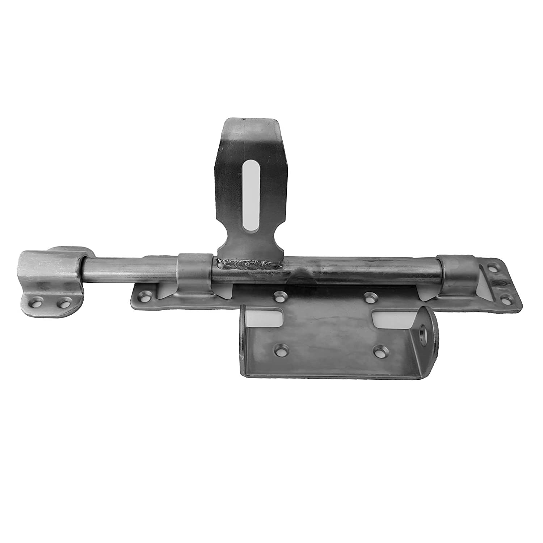 2 x SO-TOOLS/® Torriegel 260 x 122 mm f/ür schwere Tore T/ürriegel Torriegel Gartentorverriegelung f/ür Gartentore