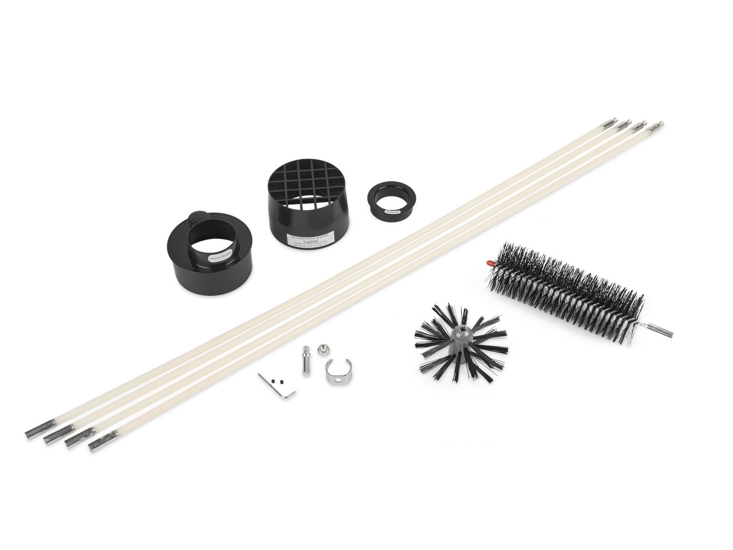 Gardus RLE202 LintEater 10-Piece Rotary Dryer Vent Cleaning System by LintEater (Image #2)