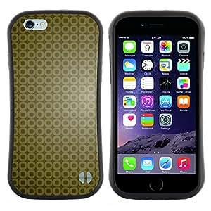 "Hypernova Slim Fit Dual Barniz Protector Caso Case Funda Para Apple (5.5 inches!!!) iPhone 6 Plus / 6S Plus ( 5.5 ) [Simple patrón 9""]"