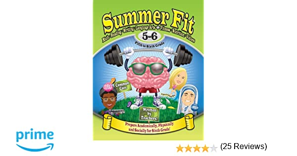 Summer Fit Fifth to Sixth Grade: Math, Reading, Writing, Language ...