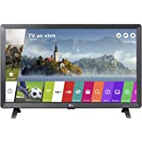 "Smart TV LED 24"" Monitor LG 24TL520S, Wi-Fi, WebOS 3.5, DTV Machine Ready"