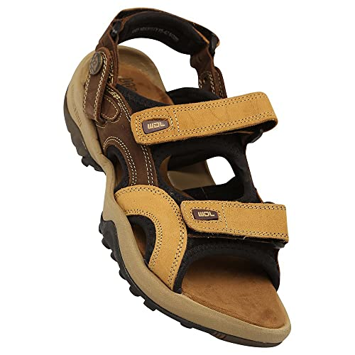 0cf58b175b7 Woodland Mens Velcro Closure Casual Sadal  Buy Online at Low Prices in  India - Amazon.in