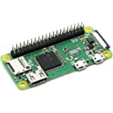 Waveshare Raspberry Pi Zero WH Built-in WiFi and Bluetooth Connectivity, 40PIN Pre-Soldered GPIO Headers,The Low-Cost Pared-D
