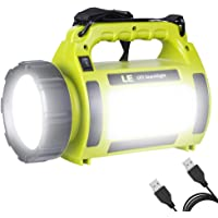 LE Rechargeable Camping Lantern 3600mAh Power Bank