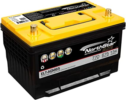 NorthStar ELT-AGM65 AGM Battery