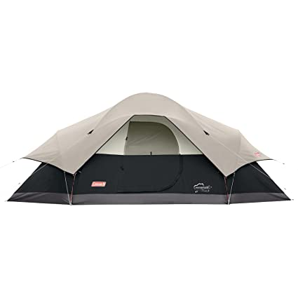 Coleman 8-Person Red Canyon Tent Black  sc 1 st  Amazon.com : coleman evanston 8 tent - memphite.com