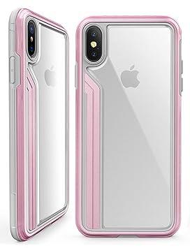 coque iphone xs antichoc rose