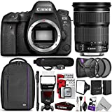 Canon EOS 6D Mark II DSLR Camera with 24-105mm f/3.5-5.6 Lens w/ Complete Photo and Travel Bundle