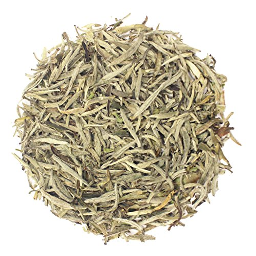 The Tea Farm - Premium Silver Needle White Tea - Loose Leaf White Tea (8 Ounce Bag)