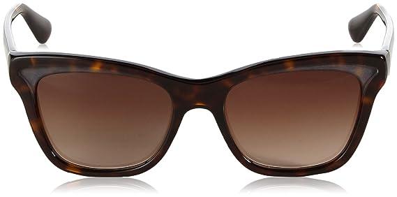 5648d729cfe Amazon.com  Prada 16PS 2AU6S1 Tortoise 16PS Parallel Universes Wayfarer  Sunglasses Lens Cat  PRADA  Clothing