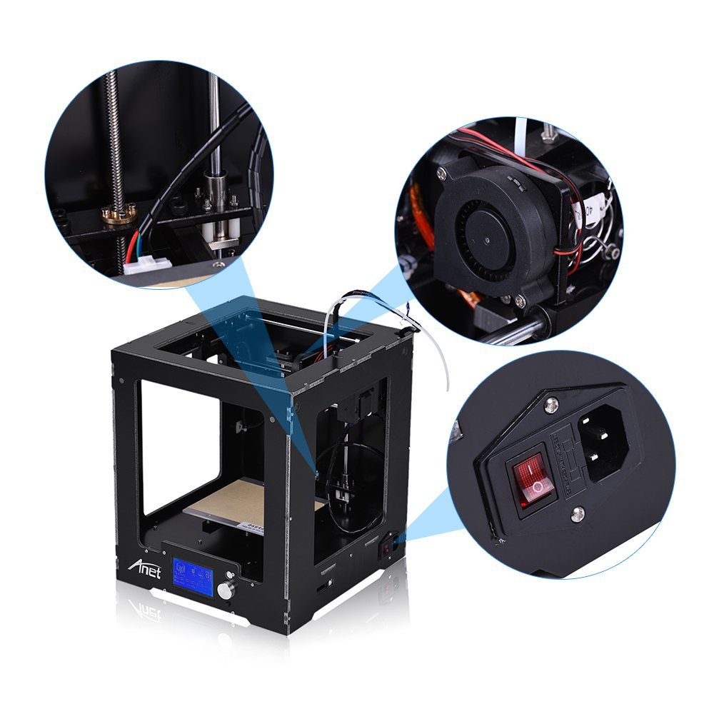 aibecy Anet a3-s montado impresora 3d máquina completa 150 * 150 ...