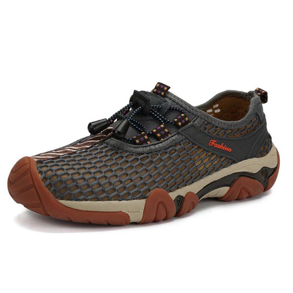 CAI 2018 Männer Wanderschuhe 2018 CAI Sommer Mesh Schuhe Herren Outdoor-Turnschuhe Breathable Mesh Schuhe Männer Freizeit Walking Klettern Schuhe f0142c