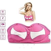 UPANV Electric Breast Enlargement Massager, Enhancer Bra with Heating Chest Massage...