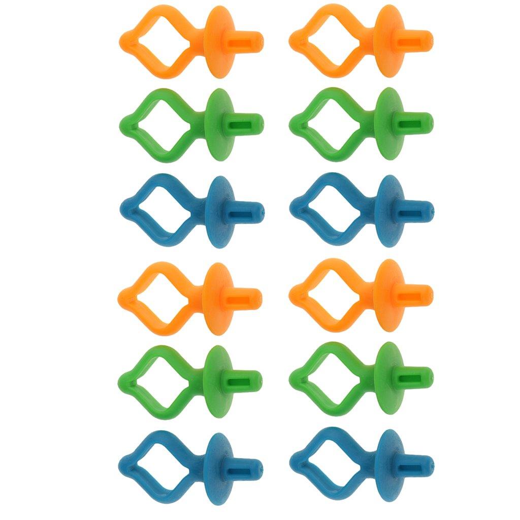 MagiDeal 12 Pi/èces Support de Bobine Rangement Accessoires pour Machines /à Coudre