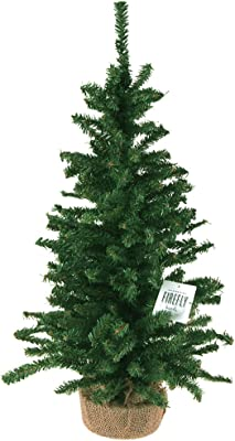 Homeford Mini Christmas Tree Artificial Pine Trees, Green (24-Inch)