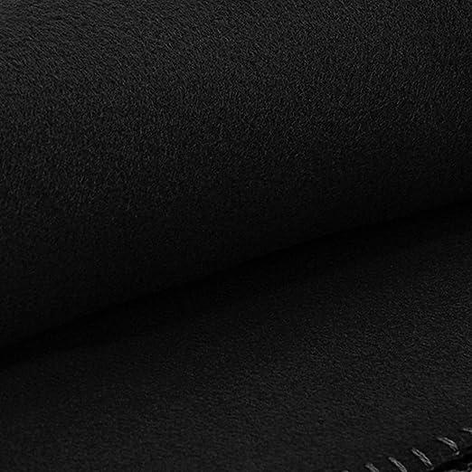 WOMETO Polar de forro polar 130 x 170 cm Color Blanco /& Gris 130/x 170/Sal/ón /& manta en rosa, rojo, naranja, gris, marr/ón, color crudo turquesa