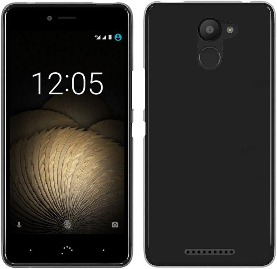 Tumundosmartphone Funda Gel TPU para BQ AQUARIS U Plus Color Negra ...