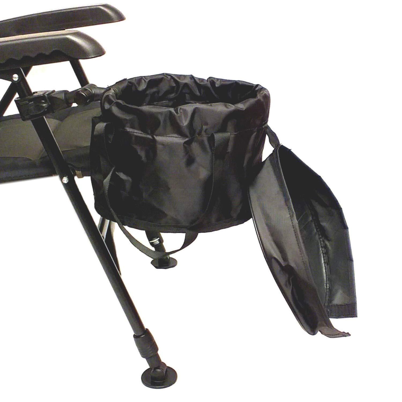 Expert Anglers Futter-Eimer mit Folding System f/ür die Befestigung an St/ühlen Sitzkiepen usw.