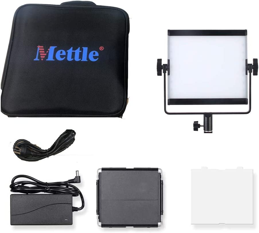 LED Light Panel Continuous Video Light,APP Control Mivitar Mettle 30W RGB Video Lights 2800k-8000k CRI 95