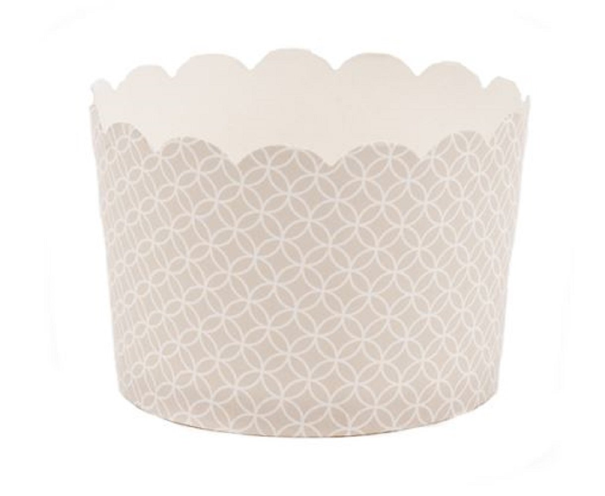 Simply Baked CJB-103 Jumbo Cup (20 Pack), Pearl Medallion