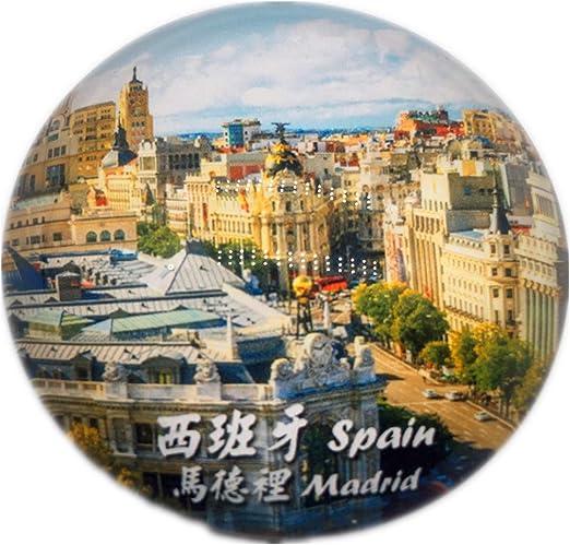 Weekinglo Souvenir Madrid España Frigorífico Imán de Nevera Ciudad ...