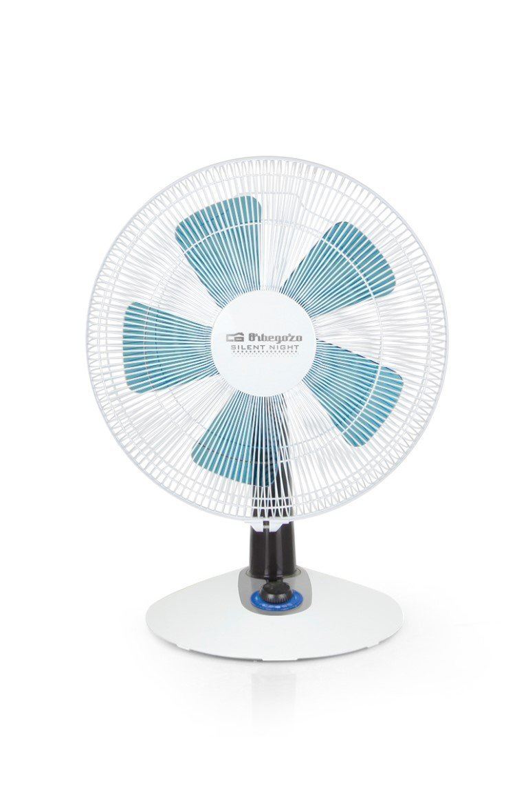 Orbegozo TF 0138 - Ventilador silencioso de sobremesa, 2 velocidades + Turbo + Silent, 35 cm de diámetro y potencia de 45 W: Amazon.es: Hogar