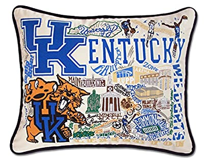 University Of Kentucky Collegiate Embroidered Pillow - Catstudio