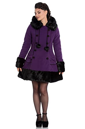 Bunny Jane 8016 Black Hell Purple Sarah Wintermantel Coat q345LRcAj