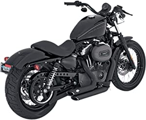 Vance and Hines Shortshots Staggered Full System Exhaust for Harley Davidson 2004-13 Sportster Models