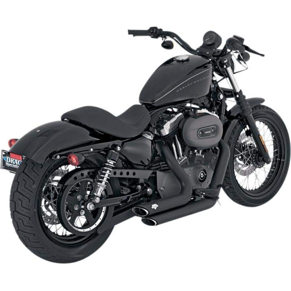 Vance and Hines Shortshots Staggered Full System Exhaust for