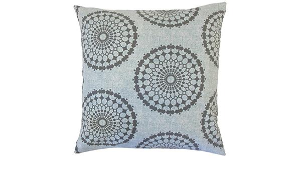 The Pillow Collection Elyes Geometric Bedding Sham Rain Standard 20 X 26 Home Kitchen