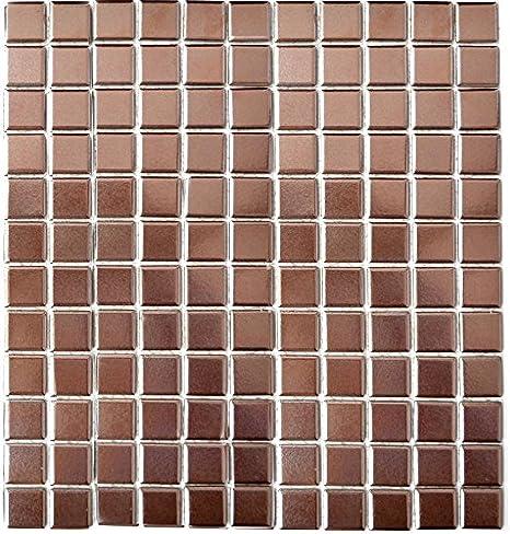 Mosa/ïque R/étro Vintage Pour carrelage c/éramique Spirit Rev/êtement cuivre pour rev/êtement miroir mural de salle de bain wc douche Cuisine Carrelage theken baignoires wb22b de 1415